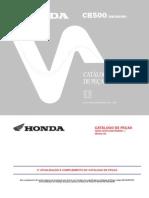 Honda CB500 98-02 Parts List POR