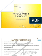 Physics Ppr 6 Notes