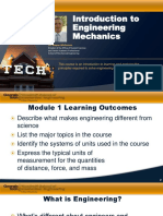 Module 1-Intro to Engr Mechanics