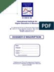 Dossier Inscription IIHEM