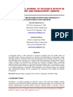 Stability of micro grid system using frequency deviation reduction method