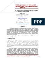 Power quality improvement using unified power quality conditioner