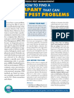 Guide to Less Toxic Pest Management Companies