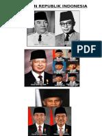 Nama Presiden Indonesia