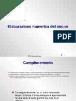 Elaborazione Numerica Del Suono