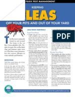 Fleas OFF YOUR PETS AND OUT OF YOUR YARD