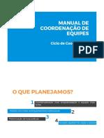 Manual de Coordenação de Equipes - Teto Ba