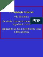 fisiologia generale slide 1