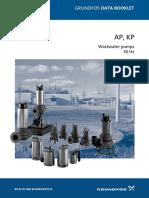 Grundfos Submersible Waste Water Pump - AP-KP