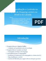 Sociologia - Nojo, humilhação e controle na limpeza de shopping centers no Brasil e no Canadá
