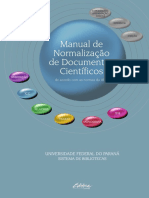 Manual de Normalizacao de Documentos Cientificos