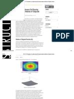 Soil Bearing Capacity and Modulus of Subgrade Reaction