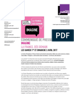 Cp Week End Imagine 2017 Programmation