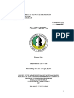 LAPSUS Plasenta Previa - Dhiya Asfarina