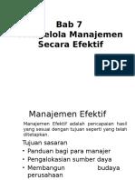 Bab 7 - Mengelola Manajemen Secara Efektif.pptx