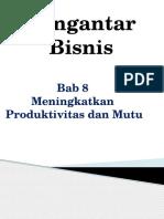 Meningkatkan Produktivitas dan mutu.ppt