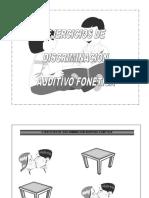 Libro Ejercicios de Discriminación Auditivo Fonética