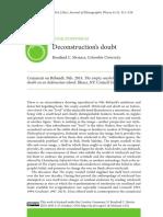 Deconstructions Doubt