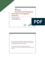 3- Enfermedades Dermatologicas Por Exposicion a Quimicos