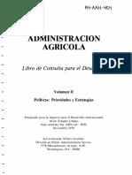 Administracion Agricola