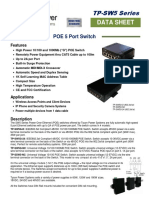 TPS POE Switch Spec Sheet