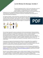 Empresa De Limpieza De Oficinas En Durango, Gernika Y Markina