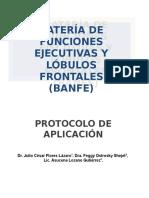 BANFE. Protocolo Modificado - Rev. Julio y Maura 2