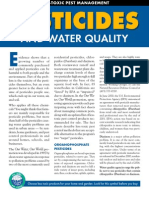 Pesticides & Water Quality