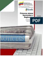 Primeras Planas Nacionales y Regionales + Resumen de Noticias