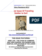 Military Resistance 8G12 Traveling Soldier
