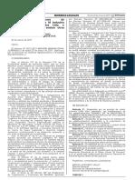RESOLUCIÓN DIRECTORAL Nº 0013-2017-MINAGRI-SENASA-DSA