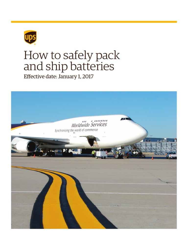 pack ship batteries dangerous goods battery electricity