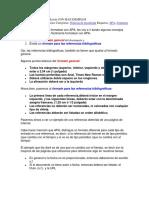 0 - Formatear Con APA 6a Edición CON MAS EJEMPLOS