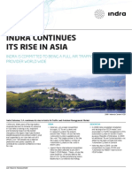 Indra Continues Its Rise in Asia 0
