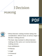 5 Ethical Decision Making