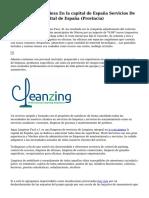 Empresas De Limpieza En la capital de España Servicios De Limpieza En la capital de España (Provincia)
