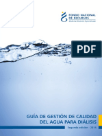 Gestion de La Calidad de Agua Para HD
