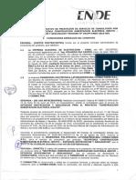 Contrato ENDE Bolivia