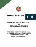 Manual Estandarizacion Compras Publicas 2016
