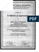 9- DASCO Performance Certificates