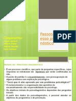 01-Passos Do Processo Psicodiagnóstico
