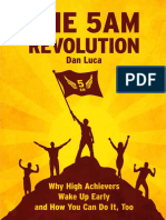 The 5 AM Revolution by Dan Luca