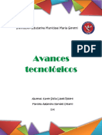 Avances Tecnologicos 11-6