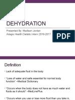 dehydration presentation