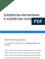 3-Substâncias Elementares e Compostas (1)