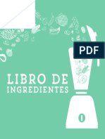 Libro Ingredientes