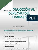 Introduccic3b3n Al Derecho Del Trabajo
