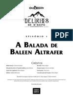 DX1 - A Balada de Baleen Altrafer