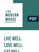 Modern Moose Presentation