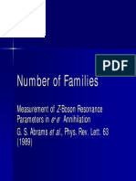 Number of Families